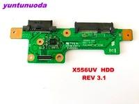 Оригинал для ASUS X556UV HDD плата X556UV HDD REV 3,1 протестирована хорошая бесплатная доставка