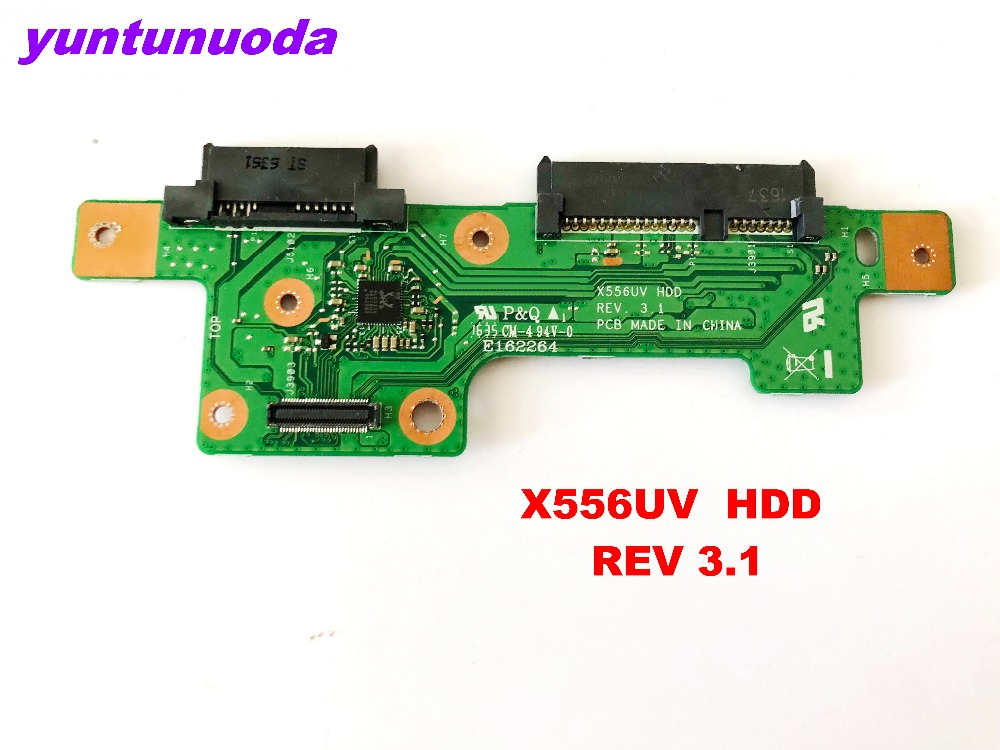 Original For ASUS X556UV  HDD Board X556UV  HDD  REV 3.1  Tested Good Free Shipping