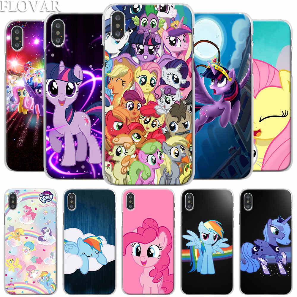Чехол для телефона My Little Pony для Apple IPhone X XR 7 8 Plus 6 6s Plus XS MAX SE Футляр для телефона