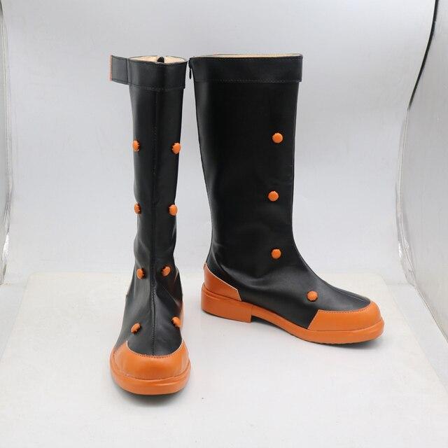 بلدي بطل الأكاديمية Bakugou Katsuki أنيمي تأثيري أحذية أحذية سوبر بطل هالوين كرنفال زي ملحق