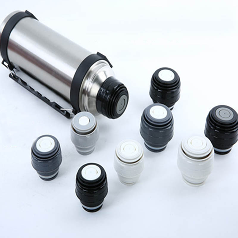 Vacuum Flask Lid Thermos Cover Portable Universal Travel Mug Accessories 1 PC Outlet Bullet Flask Cover Plastic Thermos Lids