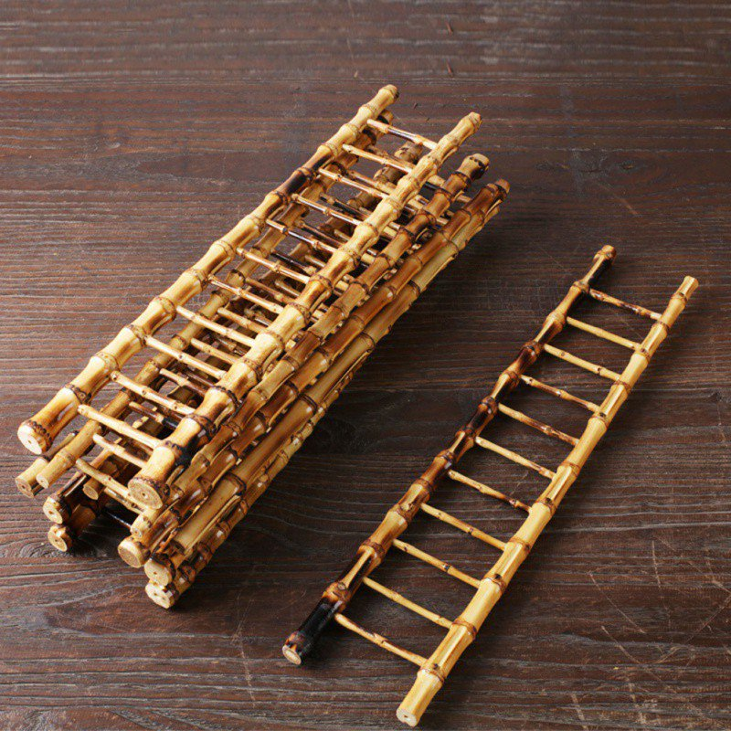 Cup Drying Bamboo Ladder