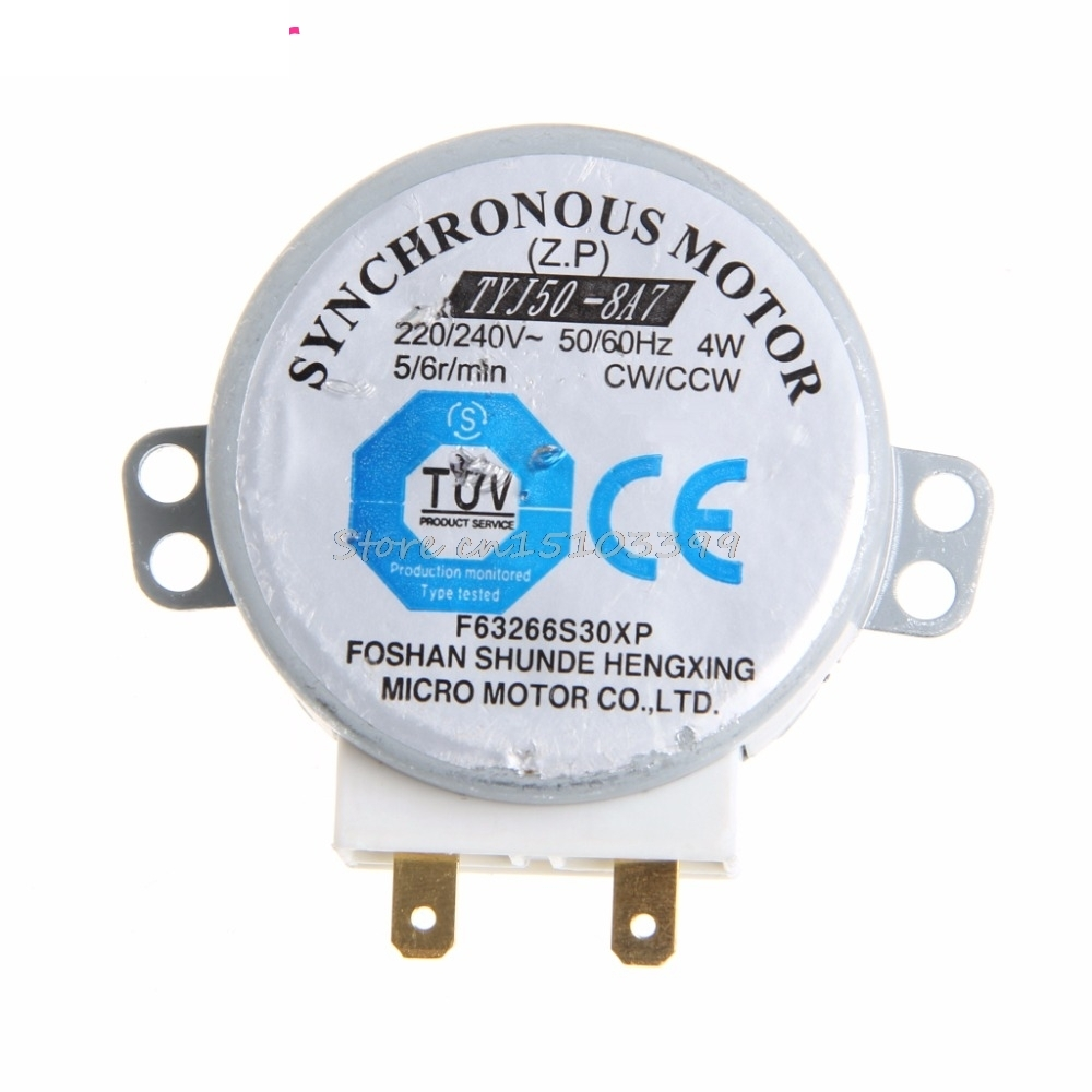 Microwave Oven TYJ50-8A7 Turntable Turn Table Synchronous Motor Controller 220/240 Volt Drop Ship ...