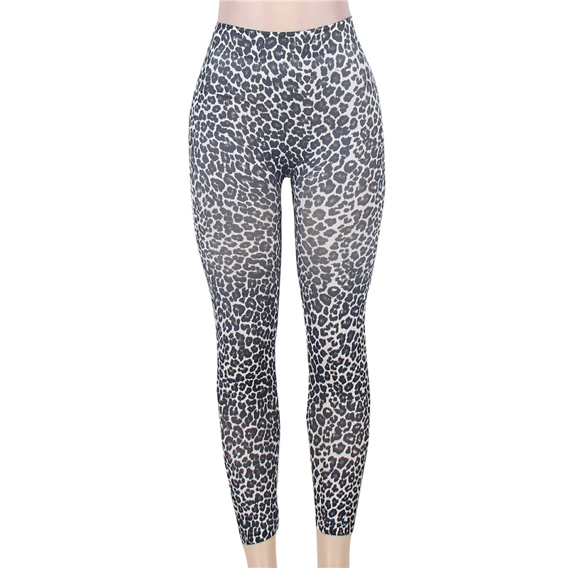 TW2145 Faux Leopard Sexy Woman Leggings High Quality Fashion Style Super Soft Leggings For Ladies Elastic Leggins For Woman