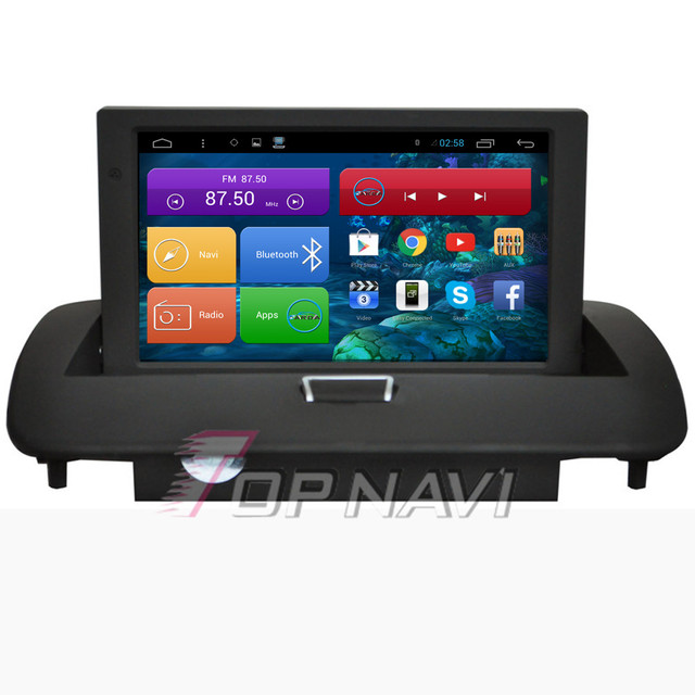 Capacitive Screen Quad Core Android 4.4 Car Stereo for Volvo S40 With 16GB Nand Flash Free Map GPS Wifi Bluetooth