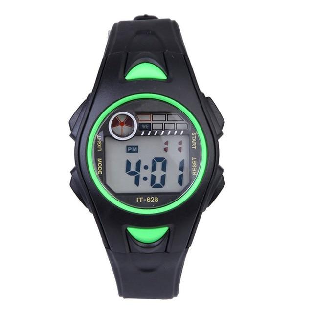 Children's Time Clock Hours Electronic Multifunctional 30m Waterproof Swim Sport Fashion Wrist Watches LXH