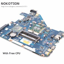 NOKOTION для acer aspire 5742 5733 5742Z 5733Z Материнская плата ноутбука MBRJY02002 PEW71 LA-6582P HM55 UMA DDR3