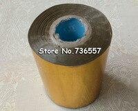 80mmx120M Golden Color Hot Stamping Foil Heat Transfer Napkin Gilding PVC Business Card Emboss