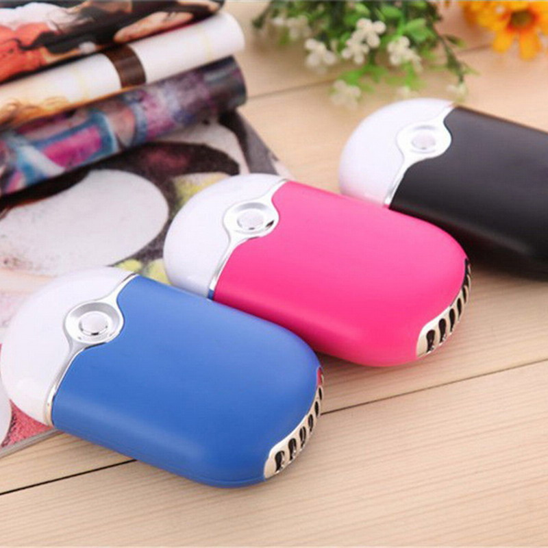 Mini Air Conditioner Cooler Fan Portable handheld Mini Porket fan USB Charging Desk Fan portable 8 pin air fan