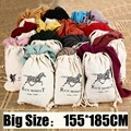 155*185cm 2016 Brand Fashion Horse Soft Cotton&Linen Blend Solid Winter Scarf Women Warm Tassel Shawls and Scarves Scarfs