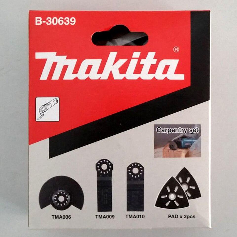 Original japon Makita ponceuse multi-fonctionnelle lames de scie à bois coupe poli Kit 5 pièces