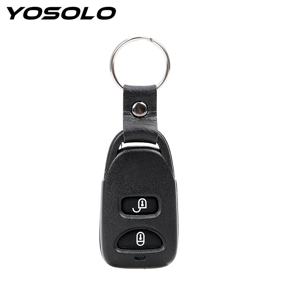 YOSOLO Remote Car Key Control Fob For HYUNDAI Tuscon 2005-2009 Accent 2005-2008 2 Button Key Shell Case ...