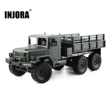 MN-77 1:16 Bilancia RC Rock Crawler 2.4g 6WD Telecomando Auto Off-road Esercito Militare Camion RC Giocattoli versione RTR