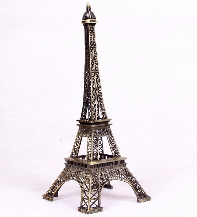 10cm Tower Eiffel Home Decoration Items Vintage Metallic Model Iron  Creative Decorative Modern Artificial Photo Prop Crafts In Figurines U0026  Miniatures From ...