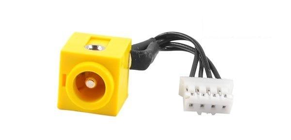 WZSM Wholesale Free Shipping New DC Power Jack With Cable For IBM Thinkpad T40 T41 T41p T42T42p T43 T43p R50 R52 R51