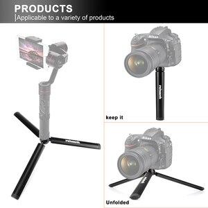 Image 5 - Pergear di Alluminio Mini Treppiede Da Tavolo Gamba per la Testa del Treppiede Selfie Stick Allungabile Monopiede Smartphone Telecamere Zhiyun Liscia Q2 4