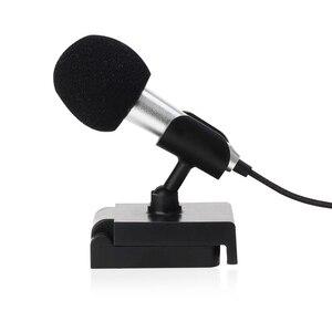 Image 5 - Micrófono Mini PARA karaoke, micrófono portátil con conector Jack de 3,5mm, micrófono para hablar, sonido de música y grabación