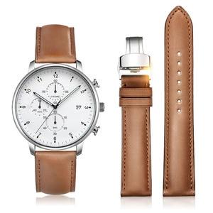 Image 2 - IStrap Horloge Strap Quick Release Horloge Band 16mm 18mm 19mm 20mm 21mm 22mm 24mm Deployment Gesp voor Omega Tissot Seiko Casio