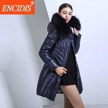 Europe American Style Winter Jacket Women Luxury Down Coat 2016  New Large Fur Collar Women jacket Slim Winter Coats Parka M374