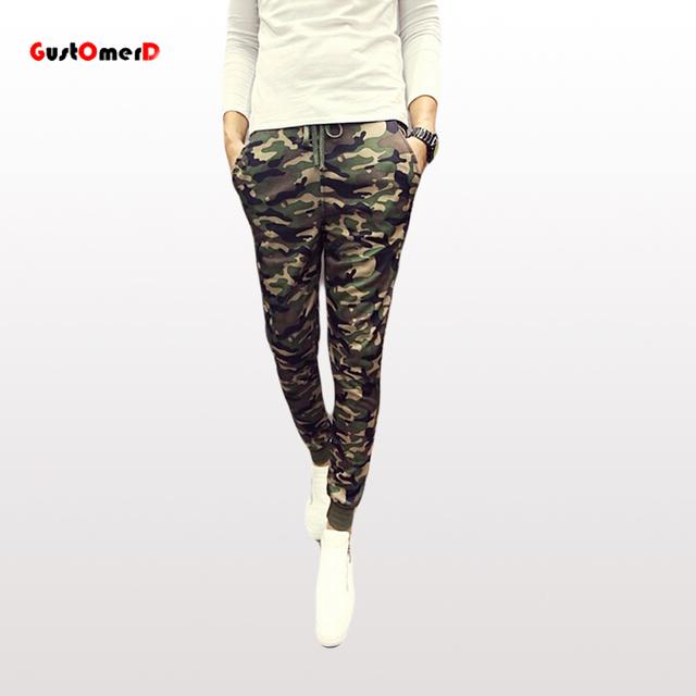8 Estilos Nuevos 2015 Pantalones Para Hombre Joggers pantalones de Chándal Para Los Hombres de Camuflaje Militar Pantalones Holgados de Los Hombres Pantalones Pantalones Hombre