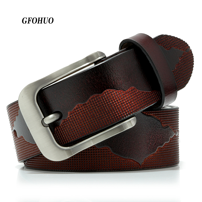 Factory Direct Belt Wholesale Price New Fashion Designer Belt High Quality Genuine Leather Belts for Men Pin Buckle belt jeans