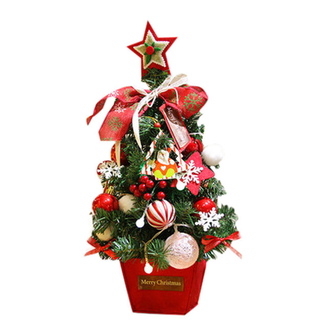 DIY Artificial Flocking Christmas Tree Multicolor Holiday Xmas ...