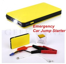 2017 Mini Emergency Car Jump Starter 12V Portable Starter Power Bank Car Charger for Car Battery Booster Pack Starting Device