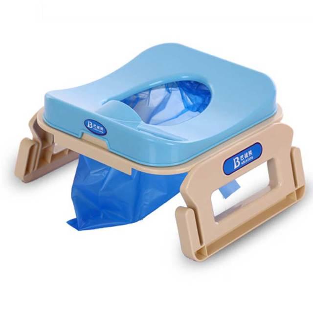 De alta Calidad de Viaje Multifunción Vehículo Infantil Niños Potty Urinario Cabritos Del Bebé Inodoro Portátil Inodoro Plegable Cómoda