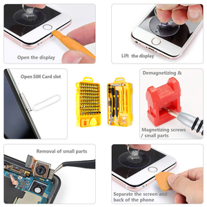 Image 3 - Vastar 115 in 1 Screwdriver Set Mini Electric Precision Screwdriver for Iphone Huawei Tablet Ipad Home tool set