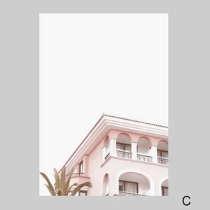 Image 5 - Póster Rosa Vintage carteles nórdicos e impresiones cuadro sobre lienzo para pared de chimenea para decoración de sala de estar sin marco