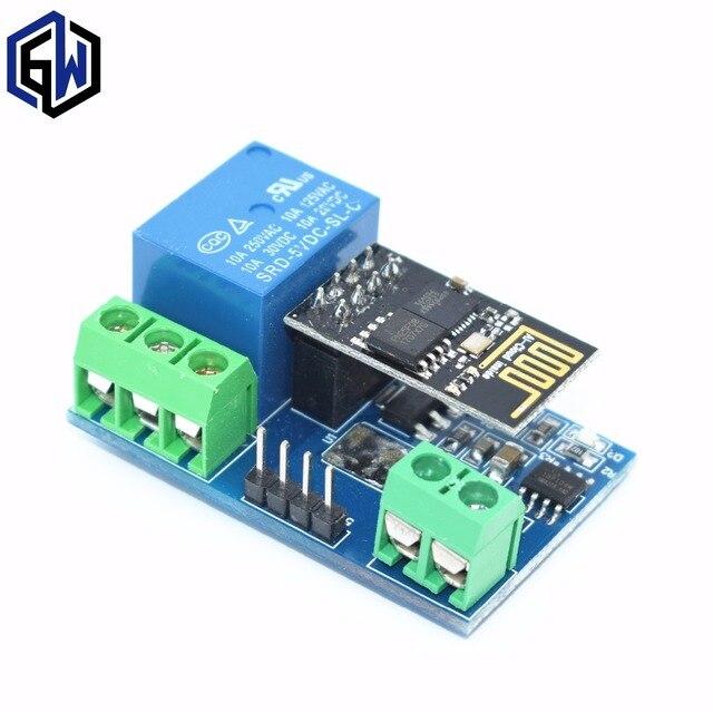 Esp8266 5 В Wi-Fi модуль реле вещи умный дом пульт дистанционного управления телефон приложение