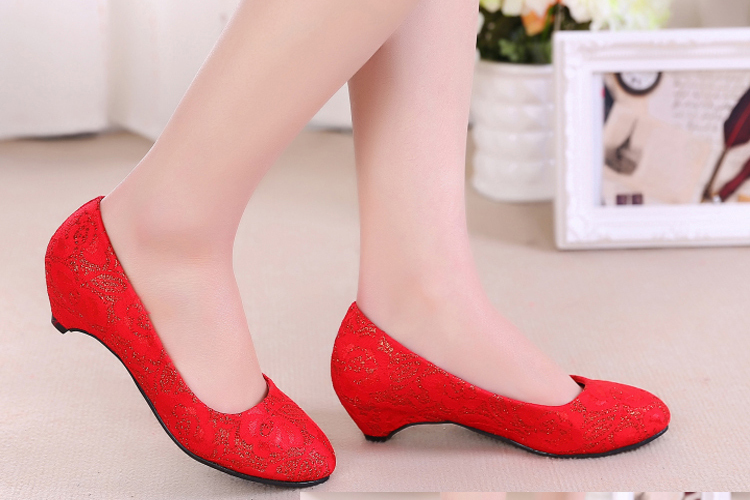 Aliexpress.com : Buy To marry the bride shoes short with low shoes ...