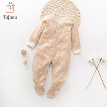 4f97419fc Newborn Baby Boy Clothes Organic Cotton Footies Lucky Child Baby Girl  Clothing No Dyed Safe Children Baby Costume jumpsuit bebes