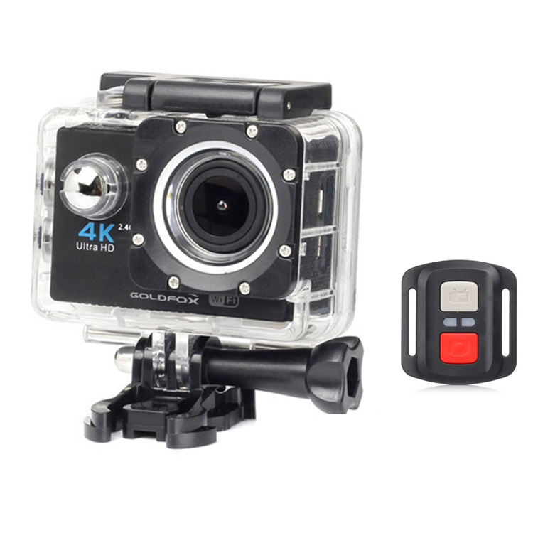 H16R Ultra HD 4K Action Camera WiFi Sport Camera Remote Control Sport DV Video Car Camcorder go Waterproof pro Helmet Camera image
