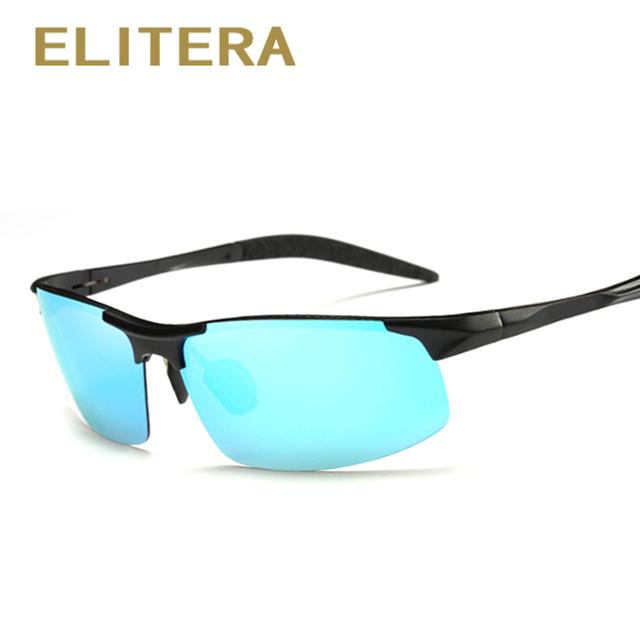 ELITERA Aluminum Brand New Polarized Sunglasses Men Fashion Sun Glasses Travel Driving Male Eyewear Oculos Gafas De So E8177