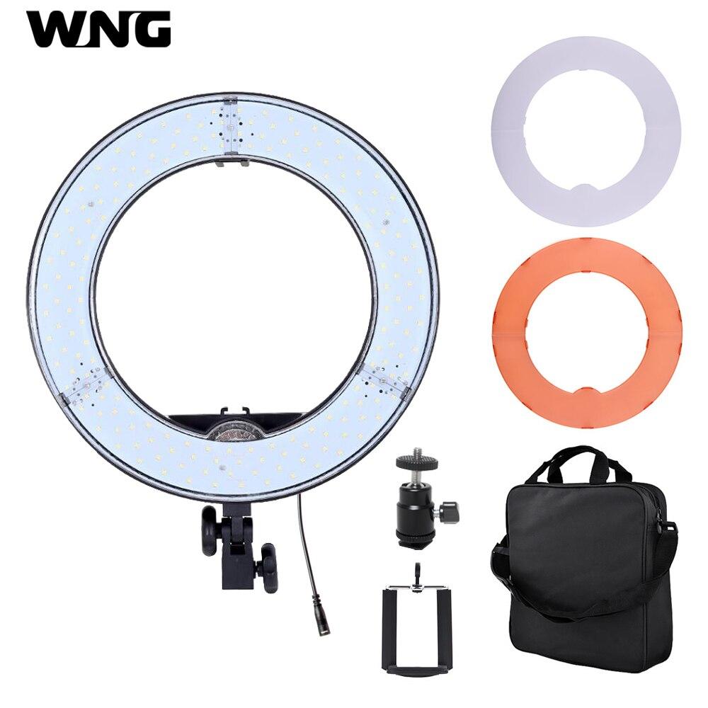 RL-12 12 pouces 180 LED 36 W LED anneau lumière Dimmable Ringlight 3200 K/5500 K photographie anneau lumière maquillage lampe