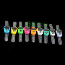 Stitch Marker dan Baris Counter LCD Elektronik Digit Tally Counter Mar28(China)