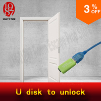 Room Escape Props Real Life Adventurer Game USB Disk Prop Plug The Usb Disk To Unlcok