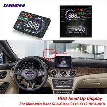 Liandlee Car Head Up Display HUD For Mercedes Benz CLA-Class C117 X117 2  Dynamic Driving Computer HD Projector Screen Detector