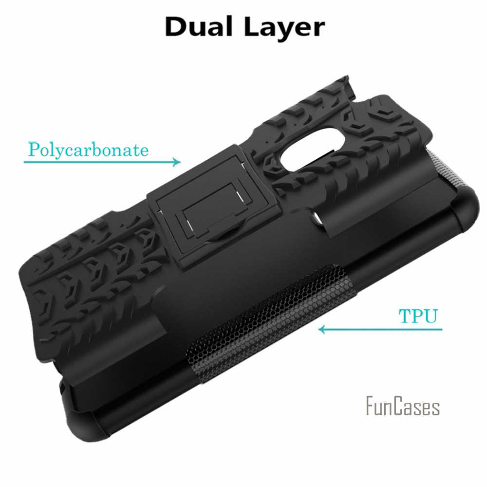 Per Huawei P10 Caso Lite 5.2 pollici Hybrid Cavalletto Dazzle di Gomma Robusta Armatura Dura del PC + TPU Con La Funzione Del Basamento Caso della copertura