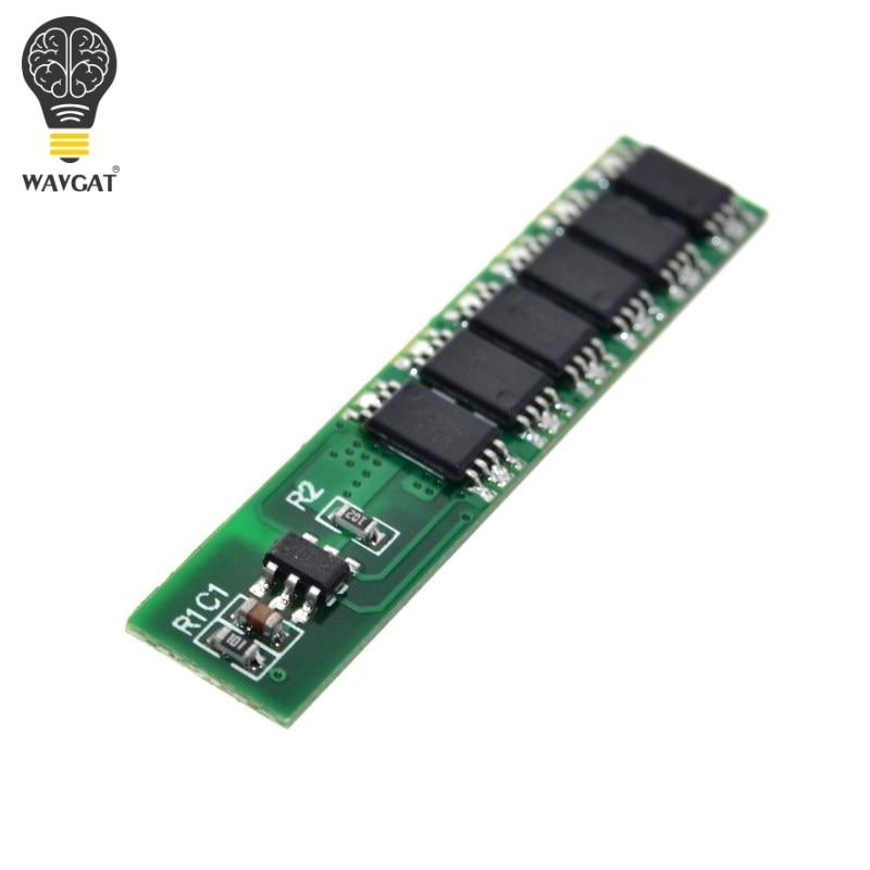 Защитная плата WAVGAT 1S 15A li-ion BMS PCM для литиево-ионных батарей 18650