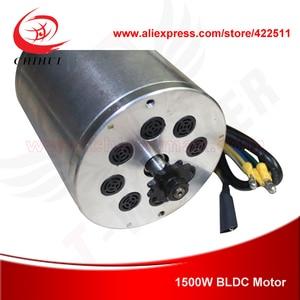 Image 3 - 1500ワット48ボルトブラシレス電気dcモータ1500ワット電動スクーターbldcモータbomaブラシレスモーター(スクーターパーツ)