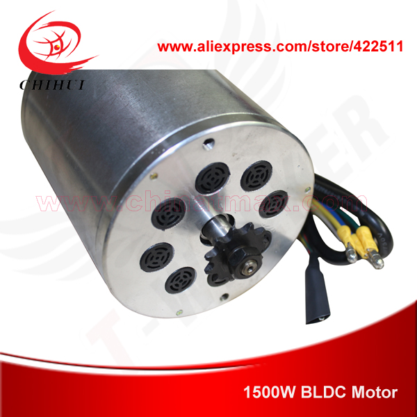 Image 3 - 1500W 48V Brushless Electric DC Motor 1500W Electric Scooter BLDC Motor BOMA Brushless Motor (Scooter Parts)-in Scooter Parts & Accessories from Sports & Entertainment