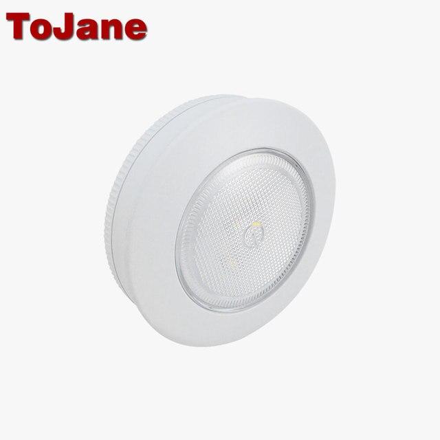 Tojane led nuit lumière tg205 bibliothèque vitrine sans fil nuit lampe placard nuit batterie lampe led