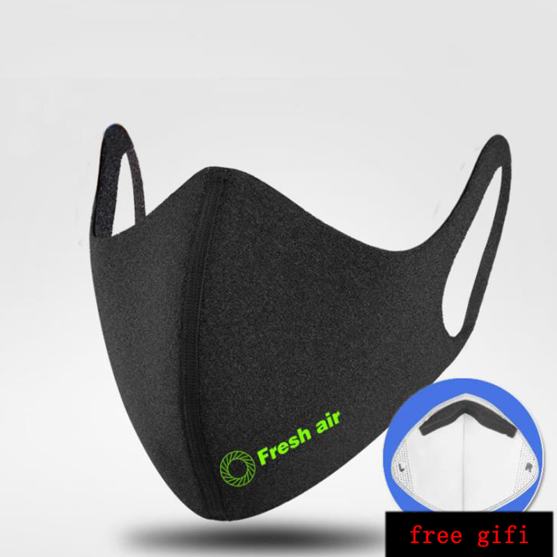 Cycling Face Mask Cap Anti-dust Cover For Running Bike Bicycle Breathable Ski 1 Filter Equipme