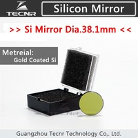 High quality CO2 reflector Si mirror 38.1MM diameter for laser engraving and cutting machine