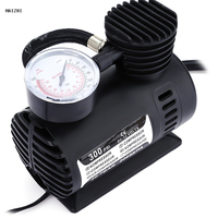 New Mini 12V 300PSI Electric Auto Car Inflatable Pump Portable Air Compressor Tire Inflator For Car