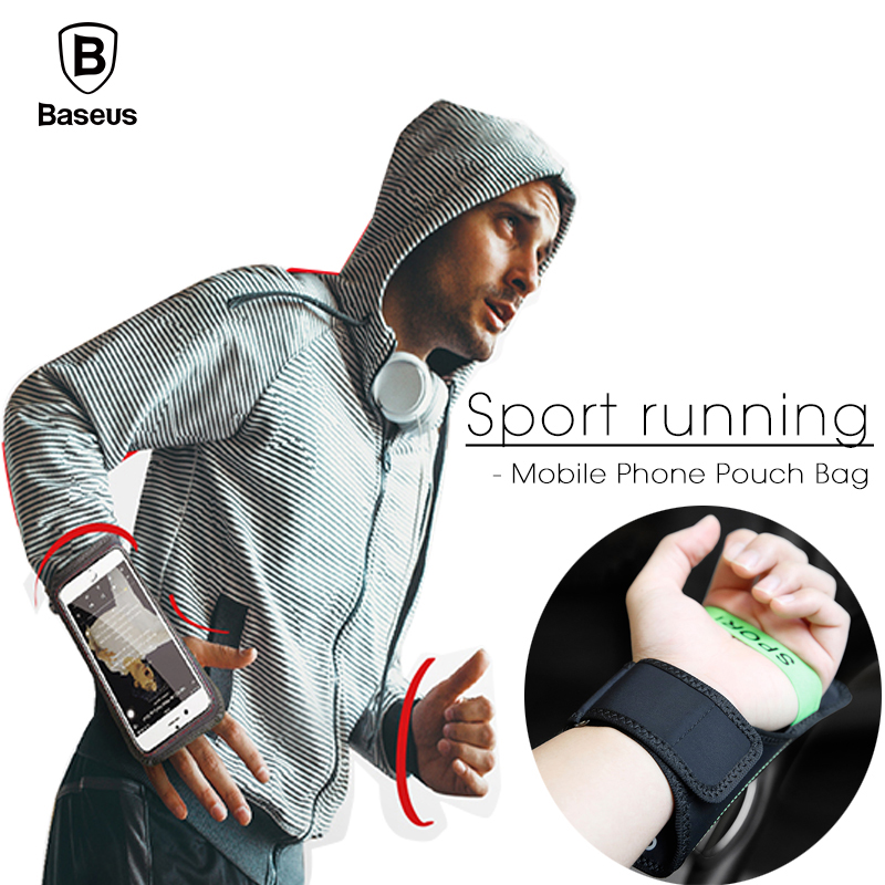 Baseus Universal Sport Armband For iPhone X 8 7 6 Plus Samsung S9 S8 Xiaomi Phone Bags Case Casual Outdoor Running Arm Band Bag