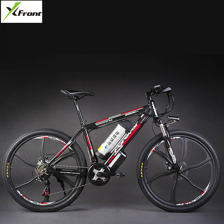 Цена за Оригинал X Передняя марка 48 В 500 Вт 20А Литиевая Батарея Горы Электрический Велосипед 21 Скорость Электрический Велосипед спуске велоспорт мотоциклов