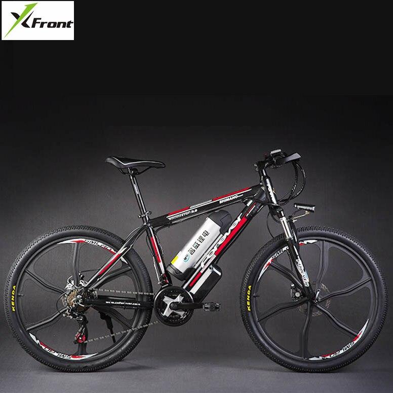 Original x-front marca 48 V 500 W 20A batería de litio bicicleta eléctrica de montaña 27 velocidades bicicleta eléctrica cuesta abajo ciclismo ebike